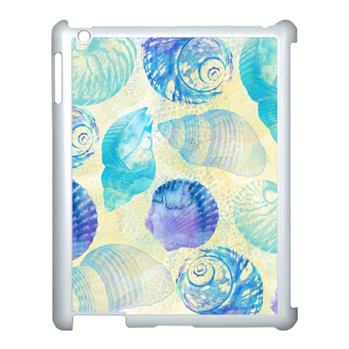 Seashells Apple iPad 3/4 Case (White)