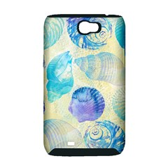 Seashells Samsung Galaxy Note 2 Hardshell Case (PC+Silicone)