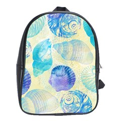 Seashells School Bags (XL)