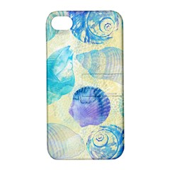 Seashells Apple iPhone 4/4S Hardshell Case with Stand