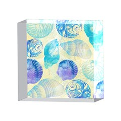 Seashells 4 x 4  Acrylic Photo Blocks