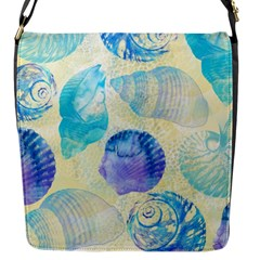 Seashells Flap Messenger Bag (S)