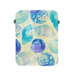Seashells Apple iPad 2/3/4 Protective Soft Cases Front