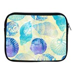 Seashells Apple iPad 2/3/4 Zipper Cases Front