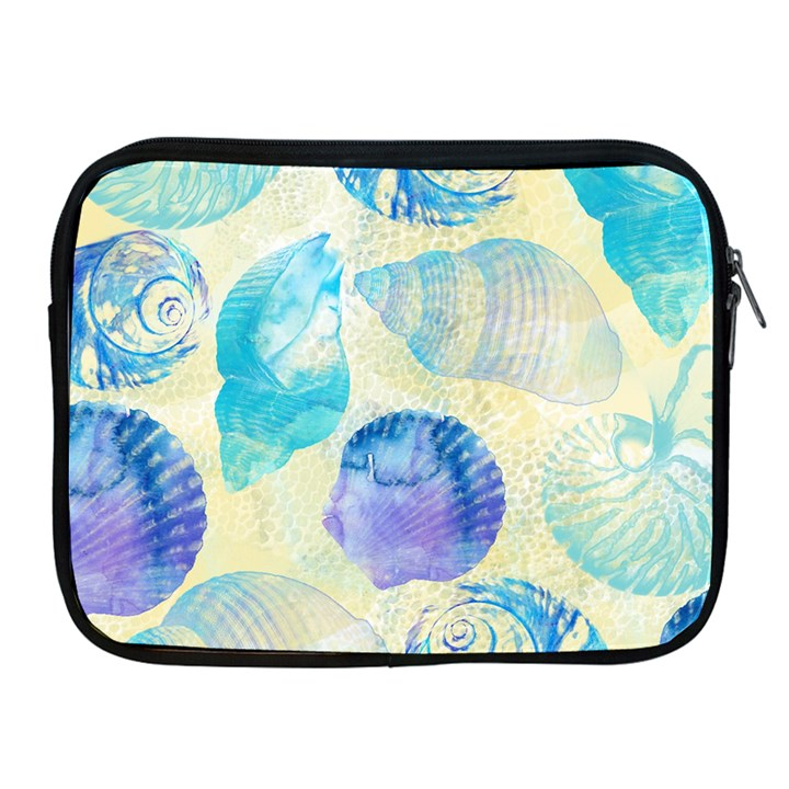 Seashells Apple iPad 2/3/4 Zipper Cases