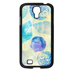 Seashells Samsung Galaxy S4 I9500/ I9505 Case (Black)