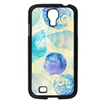 Seashells Samsung Galaxy S4 I9500/ I9505 Case (Black) Front