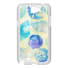 Seashells Samsung Galaxy Note 2 Case (White)