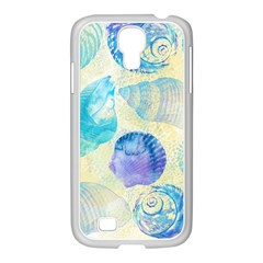 Seashells Samsung GALAXY S4 I9500/ I9505 Case (White)