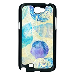 Seashells Samsung Galaxy Note 2 Case (Black)