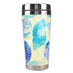 Seashells Stainless Steel Travel Tumblers Left