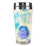 Seashells Stainless Steel Travel Tumblers Center