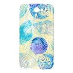 Seashells Samsung Note 2 N7100 Hardshell Back Case Front