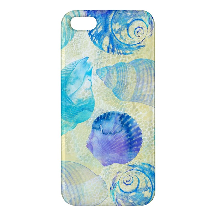 Seashells iPhone 5S/ SE Premium Hardshell Case