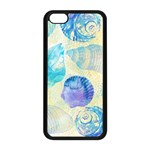 Seashells Apple iPhone 5C Seamless Case (Black) Front