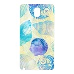 Seashells Samsung Galaxy Note 3 N9005 Hardshell Back Case Front