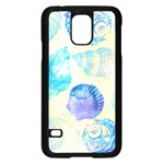 Seashells Samsung Galaxy S5 Case (Black) Front