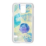 Seashells Samsung Galaxy S5 Case (White) Front