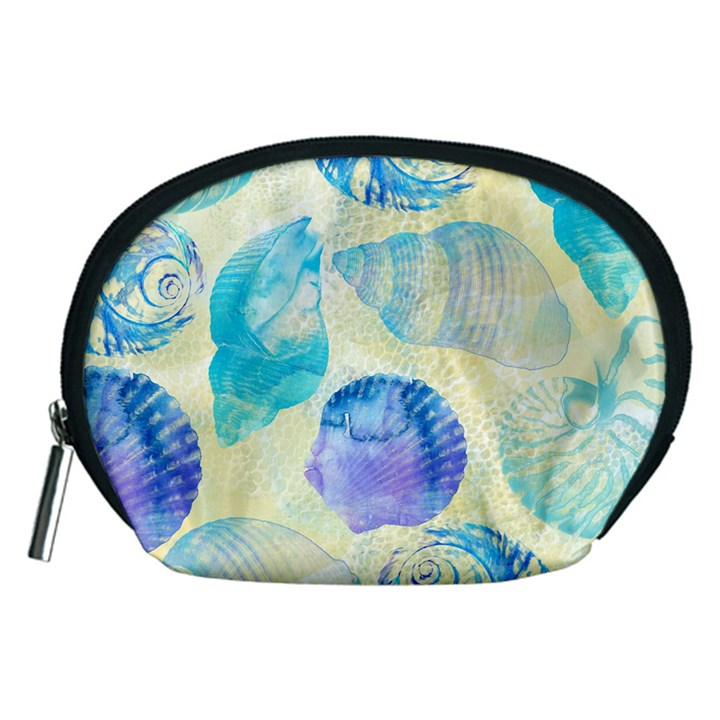 Seashells Accessory Pouches (Medium)
