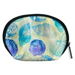 Seashells Accessory Pouches (Medium)  Back