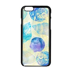 Seashells Apple iPhone 6/6S Black Enamel Case