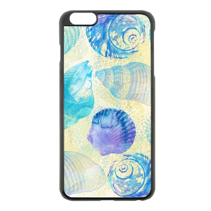 Seashells Apple iPhone 6 Plus/6S Plus Black Enamel Case