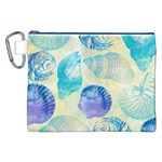 Seashells Canvas Cosmetic Bag (XXL) Front