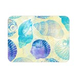 Seashells Double Sided Flano Blanket (Mini)  35 x27 Blanket Back