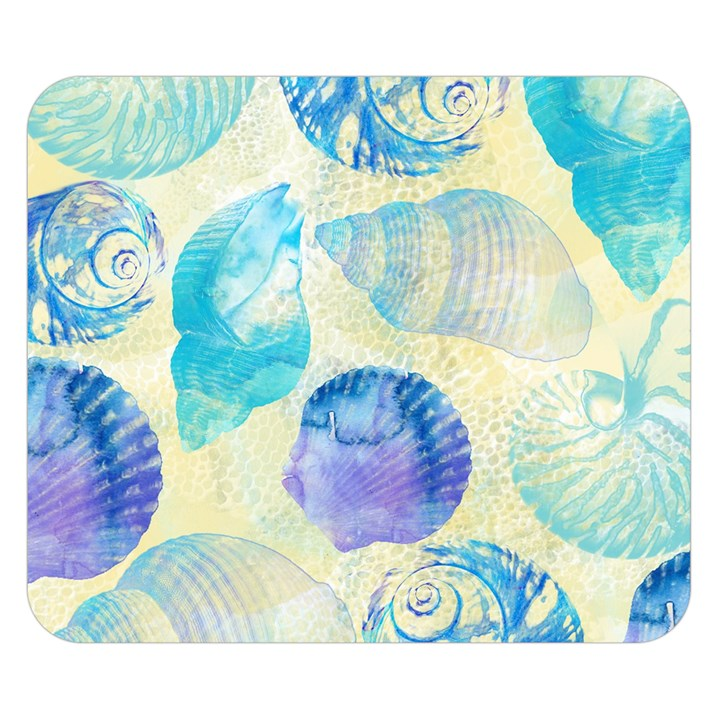 Seashells Double Sided Flano Blanket (Small)