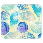 Seashells Double Sided Flano Blanket (Small)  50 x40 Blanket Back