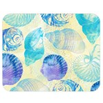 Seashells Double Sided Flano Blanket (Medium)  60 x50 Blanket Back