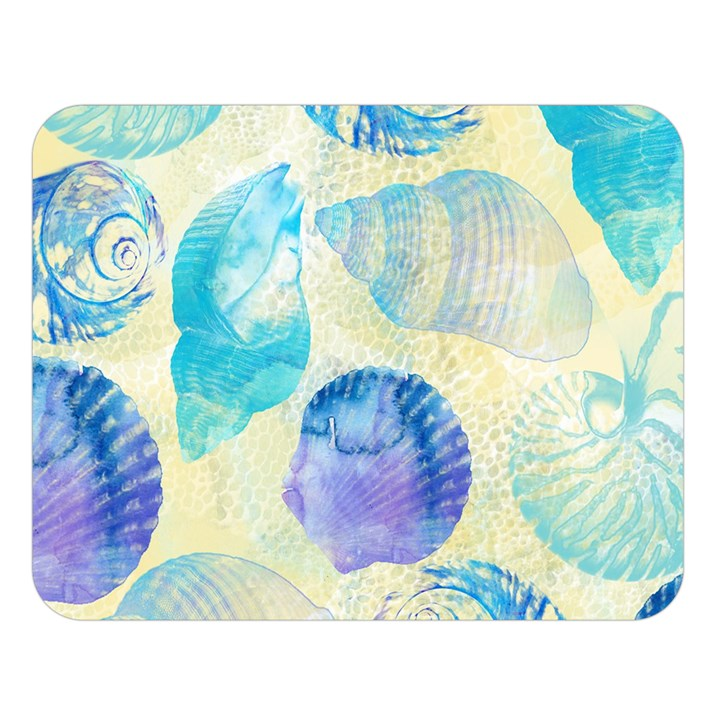Seashells Double Sided Flano Blanket (Large)