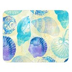 Seashells Double Sided Flano Blanket (Large)   Blanket Back