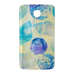 Seashells Nexus 6 Case (White)