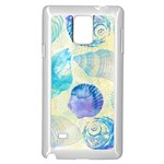 Seashells Samsung Galaxy Note 4 Case (White) Front