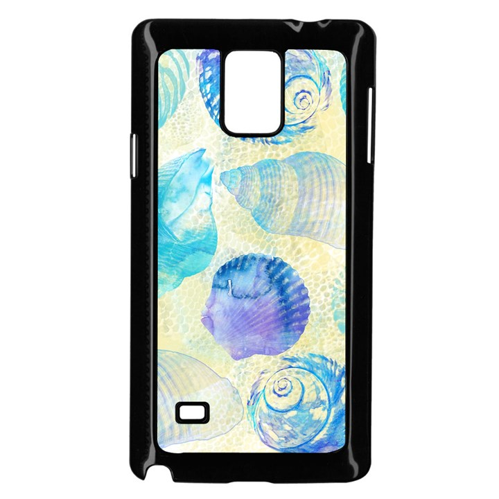 Seashells Samsung Galaxy Note 4 Case (Black)