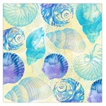 Seashells Large Satin Scarf (Square) Front