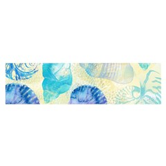 Seashells Satin Scarf (Oblong)