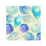 Seashells Small Satin Scarf (Square)  Front