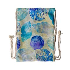 Seashells Drawstring Bag (Small)