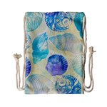 Seashells Drawstring Bag (Small) Back