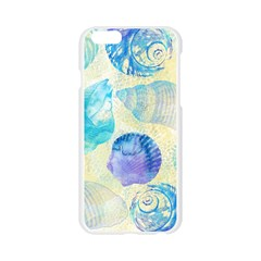 Seashells Apple Seamless iPhone 6/6S Case (Transparent)