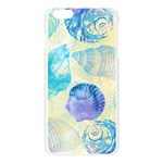 Seashells Apple Seamless iPhone 6 Plus/6S Plus Case (Transparent) Front