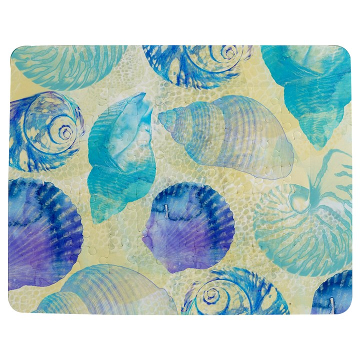 Seashells Jigsaw Puzzle Photo Stand (Rectangular)