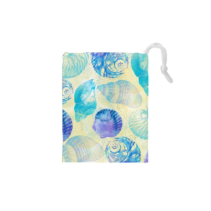 Seashells Drawstring Pouches (XS)