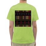 Tardis Doctor Who Ugly Holiday Green T-Shirt Back