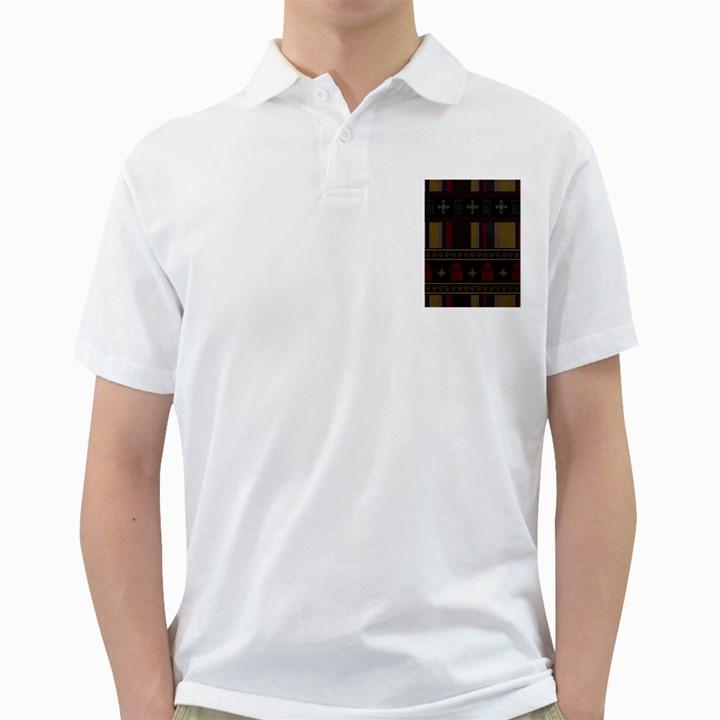 Tardis Doctor Who Ugly Holiday Golf Shirts