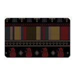 Tardis Doctor Who Ugly Holiday Magnet (Rectangular) Front