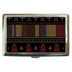 Tardis Doctor Who Ugly Holiday Cigarette Money Cases