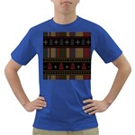 Tardis Doctor Who Ugly Holiday Dark T-Shirt Front